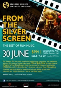 BHSO Silver Screen 2013